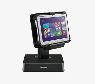 Toughpad FZ-G1 and countertop cradle (POS)